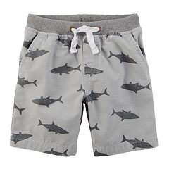 Boys 4-8 Carter's Patterned Pull On Shorts