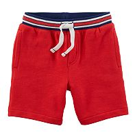 Boys 4-8 Carter's Striped Knit Shorts