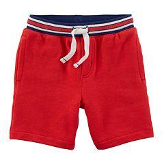 Boys 4-8 Carter's Striped Knit Shorts