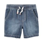 Boys 4-8 Carter's Chambray Pull On Shorts