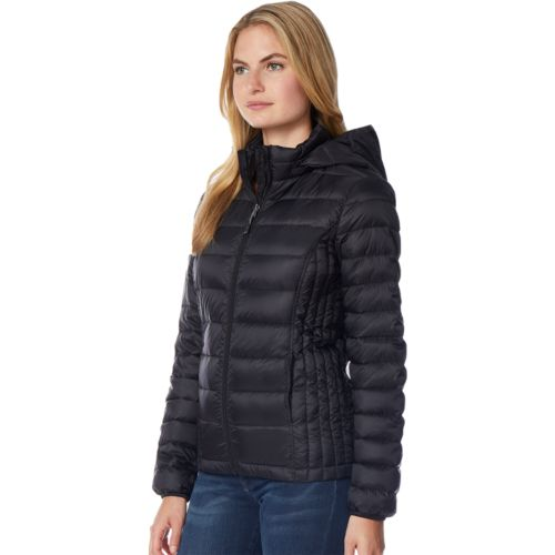 Women's HeatKeep Hooded Packable Puffer Down Jacket