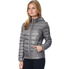 Women's Heat Keep Hooded Packable Puffer Down Jacket