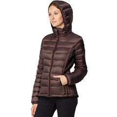 Women's HeatKeep Hooded Packable Puffer Down Jacket