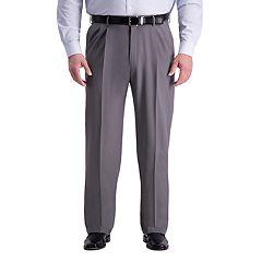 Big & Tall Haggar® Premium Comfort Expandable-Waist Classic-Fit Stretch Pleated Dress Pants