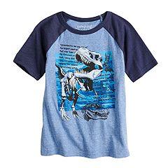Boys 4-10 Jumping Beans® Tyrannosaurus Rex Raglan Graphic Tee