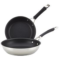 Circulon Momentum Stainless Steel Nonstick French Skillet Twin Pack