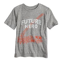 Boys 4-10 Jumping Beans® 'Future Hero' Fire Truck Graphic Tee