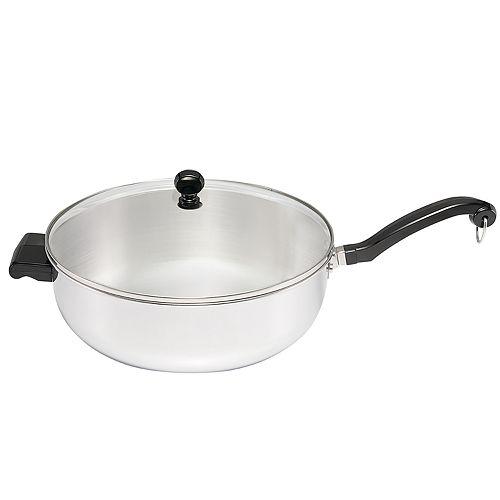 Farberware® Classic Series 6-qt. Stainless Steel Jumbo Chef's Pan