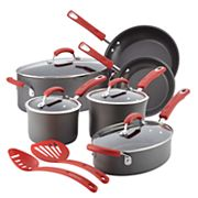 Rachael Ray 12 pc Hard-Anodized Nonstick Cookware Set