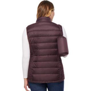 Plus Size HeatKeep Packable Puffer Vest