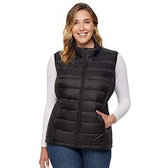 Plus Size HeatKeep Packable Puffer Vest