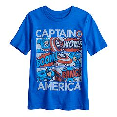 Boys 4-10 Jumping Beans® Marvel Captain America Graphic Tee