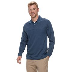 Men's Haggar® Cool 18® PRO Classic-Fit Performance Polo