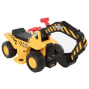 Wonderlanes 6V Lil Backhoe Ride-on Vehicle