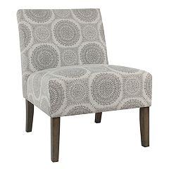 HomePop Carson Armless Accent Chair