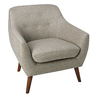 HomePop Monroe Modern Tufted Accent Chair