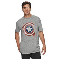 Men's Captain America Shield Tee