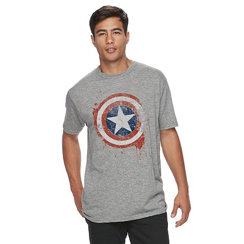 Men's Captain America Shield Tee