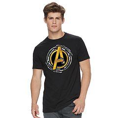 Mens' Marvel Comics Avengers Logo Tee