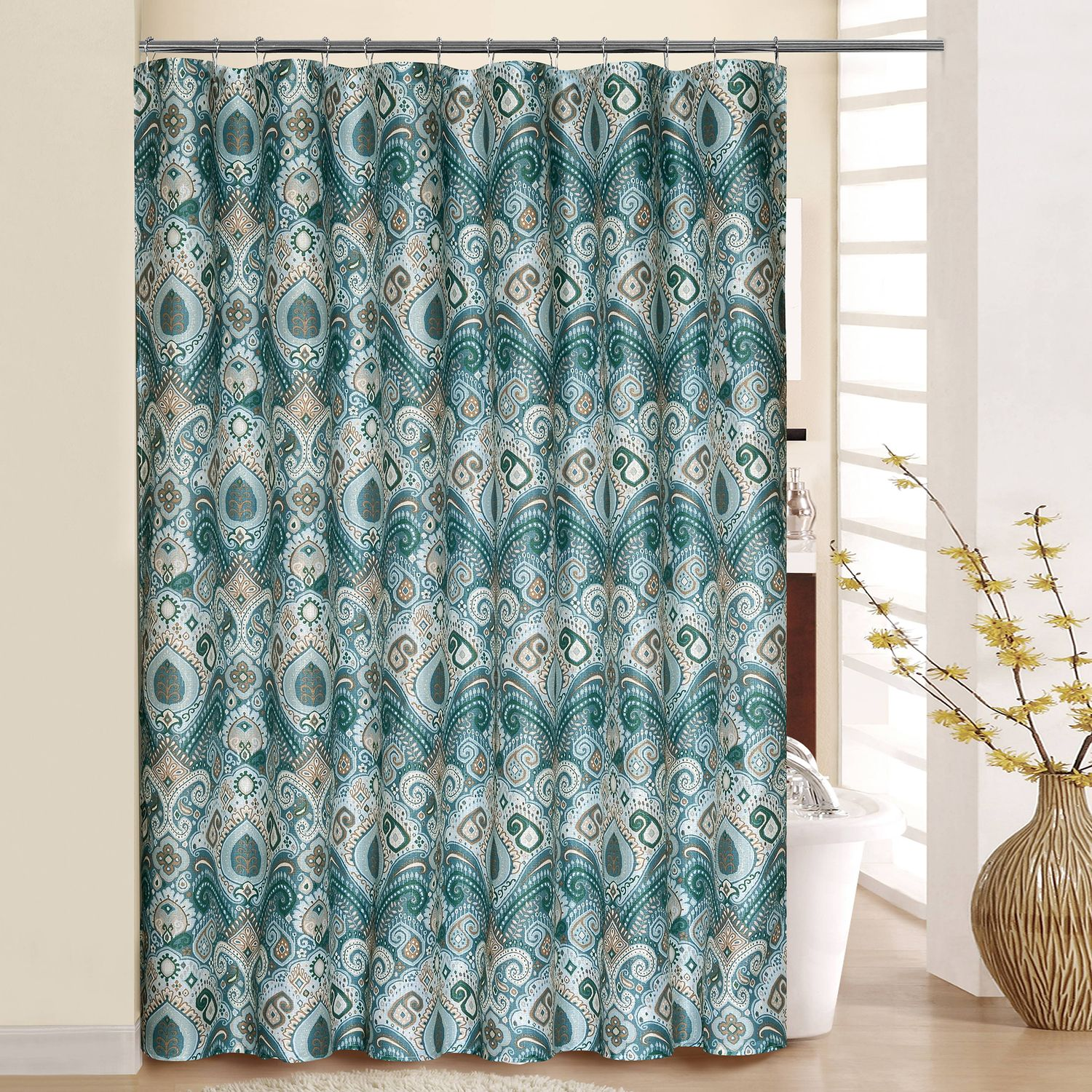 Waverly Boho Passage Shower Curtain U0026 Rings