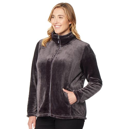 Plus Size HeatKeep Luxe Fleece Jacket