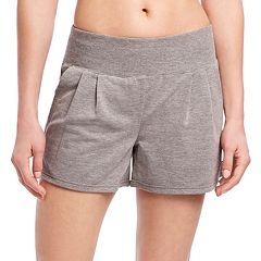 Women's Jockey Sport Slouchy French Terry Shorts