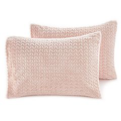 The Big One® Sherpa Fleece 2-pack Standard Pillow Covers