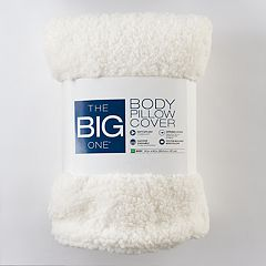 The Big One® Sherpa Fleece Body Pillow Cover