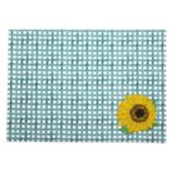 Celebrate Fall Together Gingham Sunflower Placemat