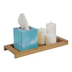 Home Basics Bamboo Vanity Tray