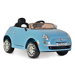 Kid Motorz 6V Fiat 500 Ride-On Vehicle