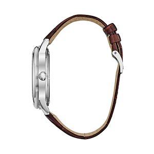 Citizen Eco-Drive Men's Corso Leather Watch - BU2070-12L