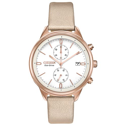 Citizen Eco-Drive Women's Chandler Chronograph Watch - FB2003-05A