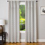 Softline 1-Panel Mythos Window Curtain