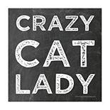 Thirstystone 4-pc. Crazy Cat Lady Coaster Set