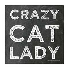 Thirstystone 4-pc. Crazy Cat Lady Coaster Set