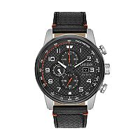 Citizen Eco-Drive Men's Primo Leather Chronograph Watch - CA0681-03E