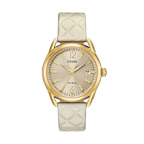 Drive from Citizen Eco-Drive Women's LTR Leather Watch - FE6082-08P