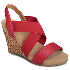 A2 by Aerosoles Lotus Plush Women's Wedge Sandals