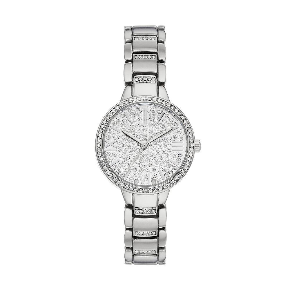 Jennifer Lopez Women's Crystal Pave Watch