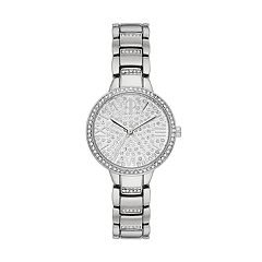 Jennifer Lopez Women's Crystal Pave Watch
