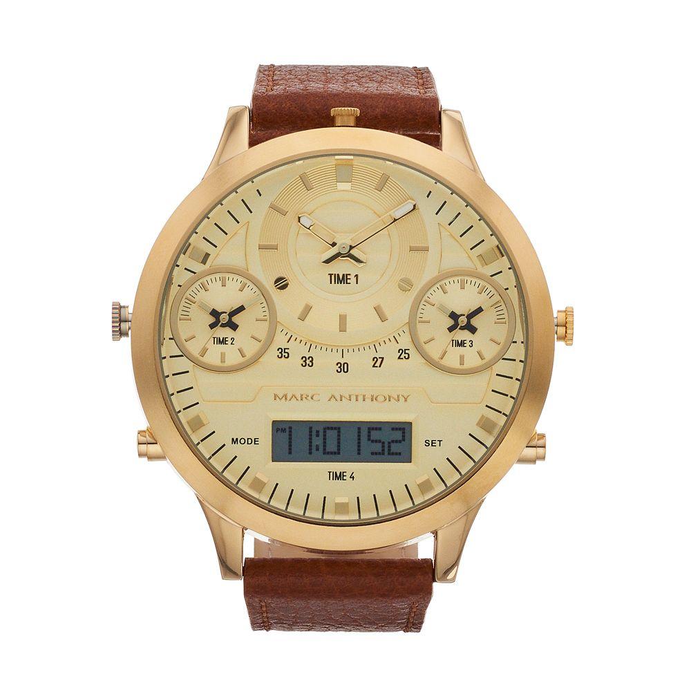 Marc Anthony Men's Analog-Digital Watch - FMDMA187