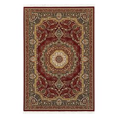 StyleHaven Mackenzie Esquire Framed Floral Rug