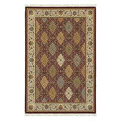 StyleHaven Mackenzie Persian Panel Framed Floral Rug