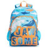 "Kids ""Jawsome"" Shark Backpack"