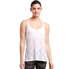 Women's Jockey Sport Equator Strappy Burnout Tank
