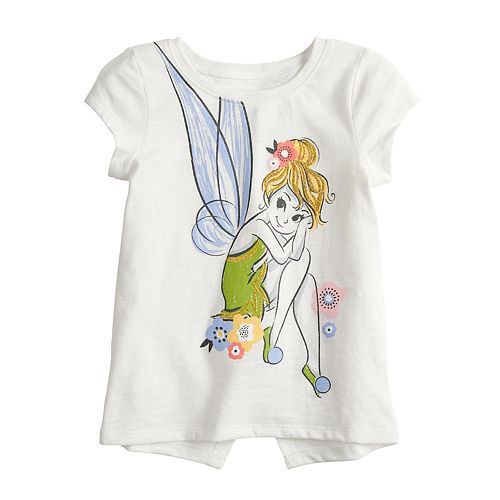 Disney's Tinkerbell Toddler Girl Glittery Graphic Tee by Jumping Beans®