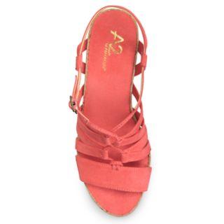 A2 by Aerosoles Poppy Plush Women's Wedge Sandals