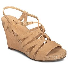 A2 by Aerosoles Poppy Plush Women's Wedge Sandals