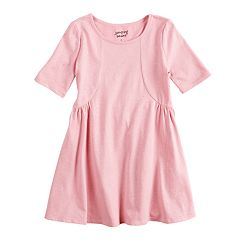Girls 4-10 Jumping Beans® Glitter Princess Seam Dress